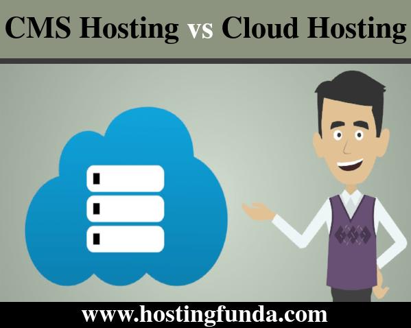 CMS hosting vs cloud hosting