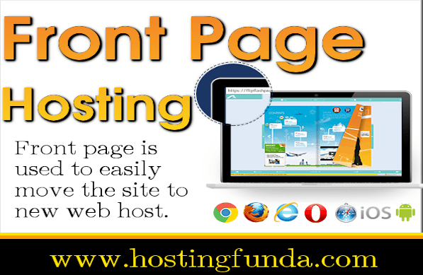 Front Page Hosting